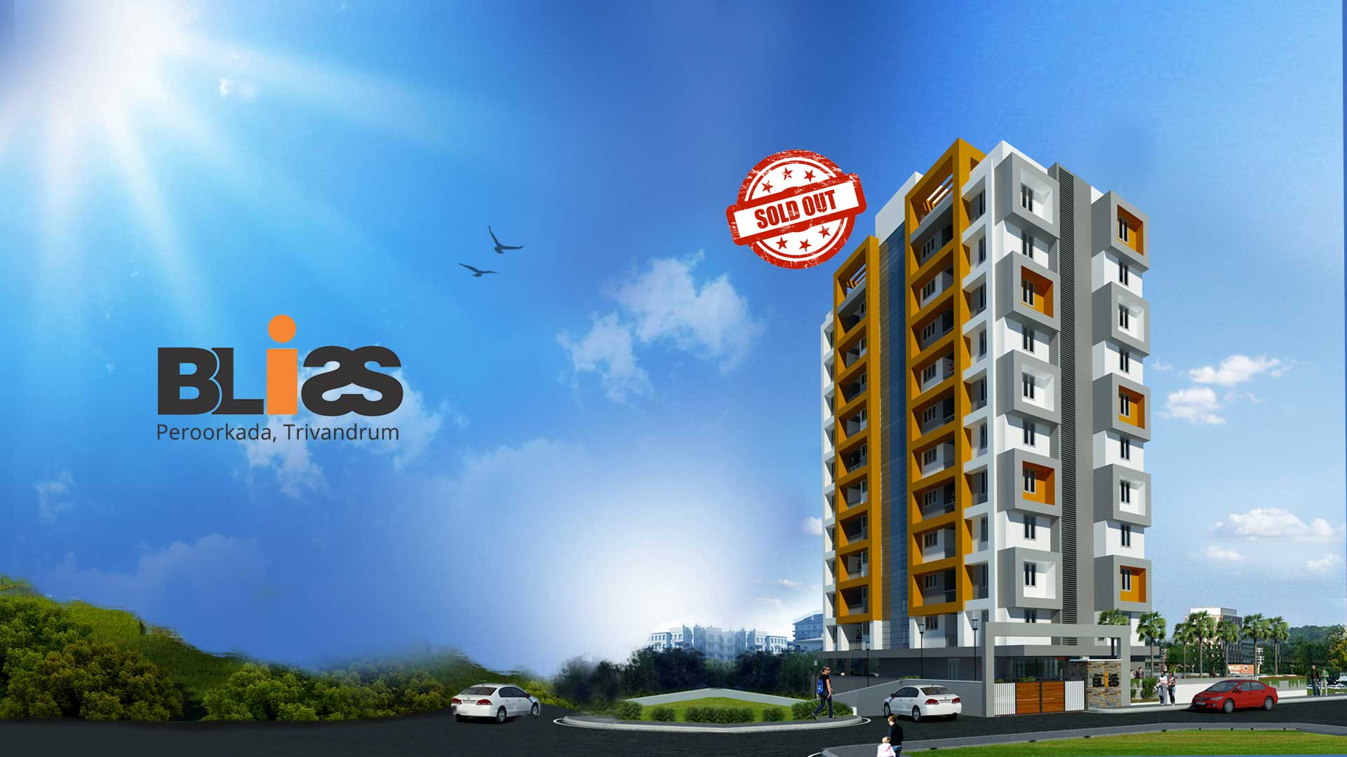 apartments from top builders in Trivandrum